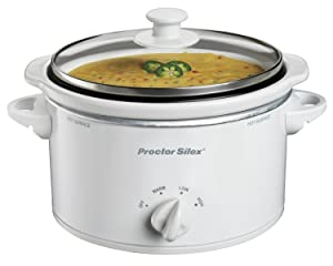 Proctor Silex Portable Oval Slow Cooker
