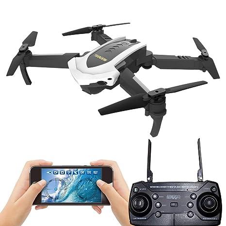 BHM avión de Juguete, dron Plegable, Antena Profesional HD de ...