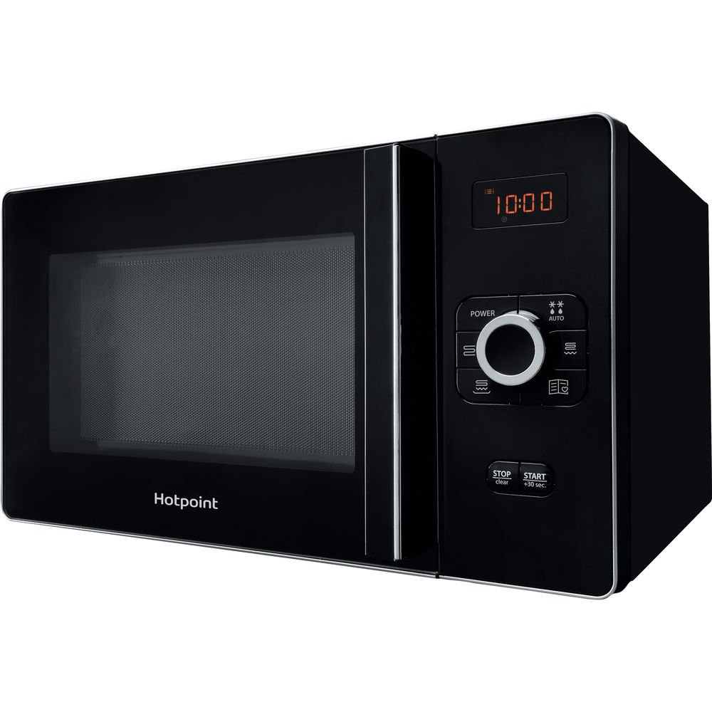 Hotpoint Gusto Microwave with Grill, 25 Litre, Black MWH 25223 B