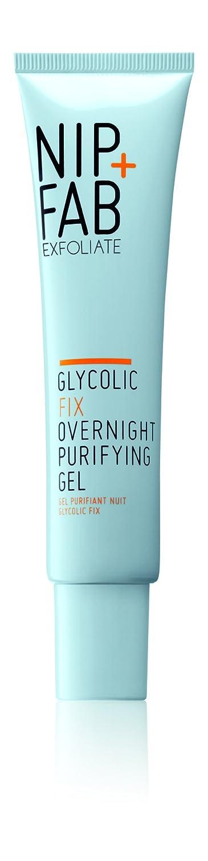 Nip + Fab Glycolic Overnight Purifying Gel, 1.4 Ounce SKGLYOVNGGEL40