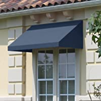 Awntech 10-Ft New Yorker Window/Entry Awning (Dusty Blue)