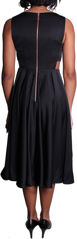 Ted Baker Lyxa Vestido Midi con Falda Completa Recortada para ...