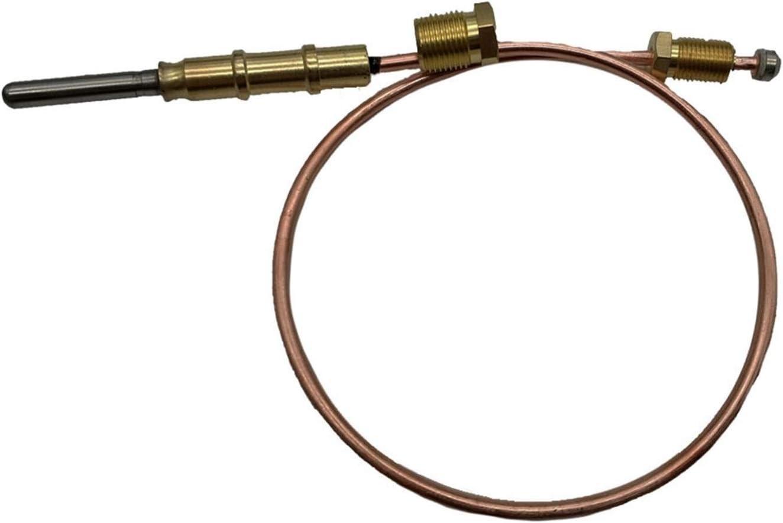 Calentadores de exterior piezas de repuesto Sensor Wire freidora a gas piezas de seguridad de termopar del dispositivo de control de temperatura del termostato de la válvula Componente Accesorio Tuerc