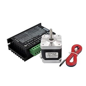 17HS8401 Nema 17 Motor paso a paso 42 Motor 1.3A con controlador ...