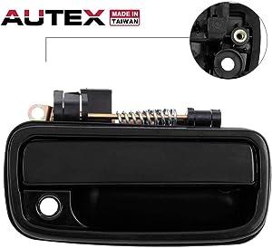 AUTEX Exterior Door Handle Front Right Passenger Side Compatible with Toyota Tacoma 1995-2004 Door Handle 79345 RH