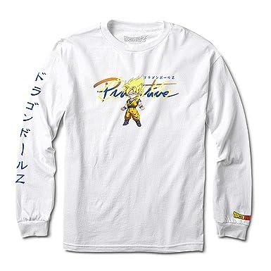f0167dce508 Primitive x Dragon Ball Z Young Men's Nuevo Goku Saiyan T Shirt White L