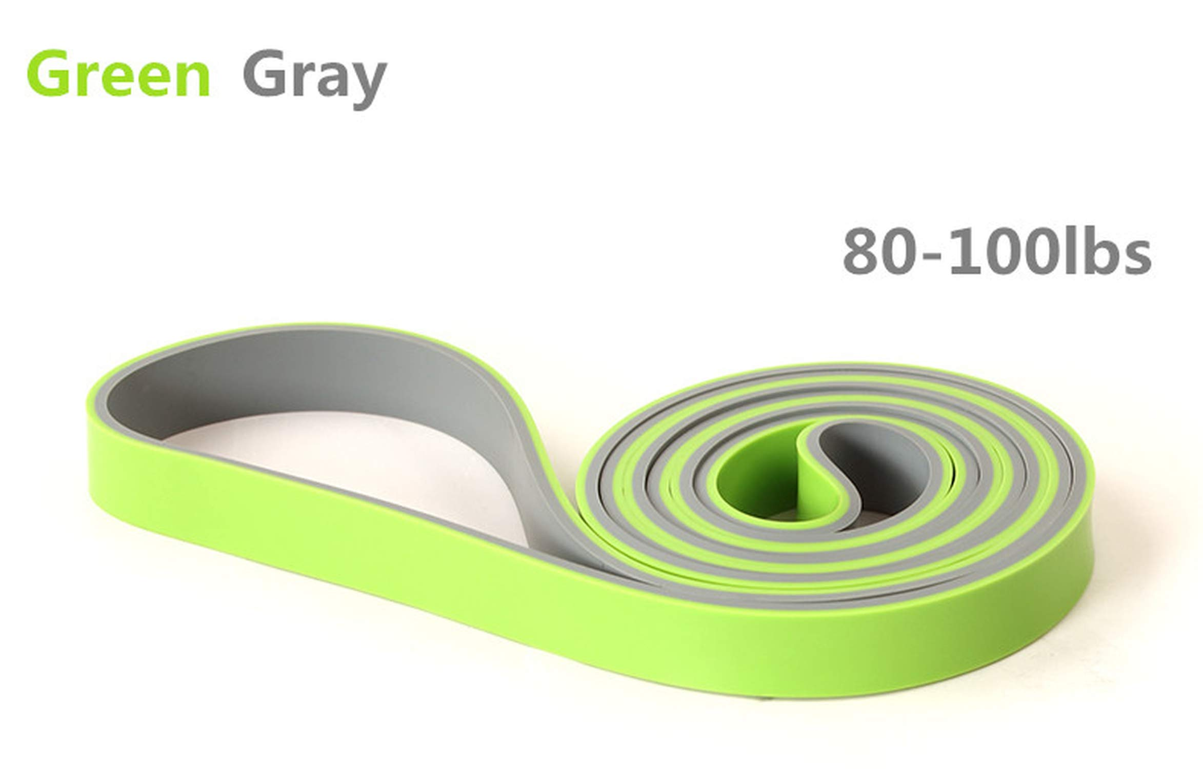 ERYIQI Pull Up Assist Bands - Heavy Duty Resistance Band, Mobility & Powerlifting Exercise Bands, Perfect for Body Stretching, Powerlifting, Resistance Training, Single Band & Set
