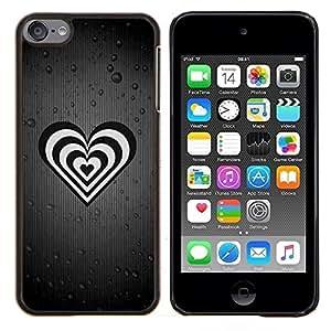 TECHCASE---Cubierta de la caja de protección para la piel dura ** Apple iPod Touch 6 6th Touch6 ** --La vida está llena de gente falsa