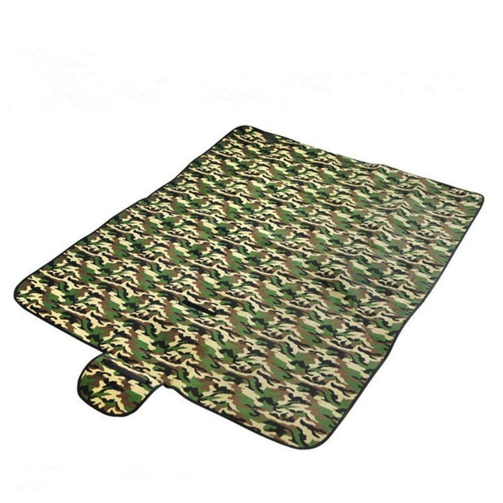 Katech portátil camuflaje manta de Picnic plegable playa almohadilla grande al aire libre Viajes Camping Dampproof Mat para bebé gatear, niños jugando o dormir