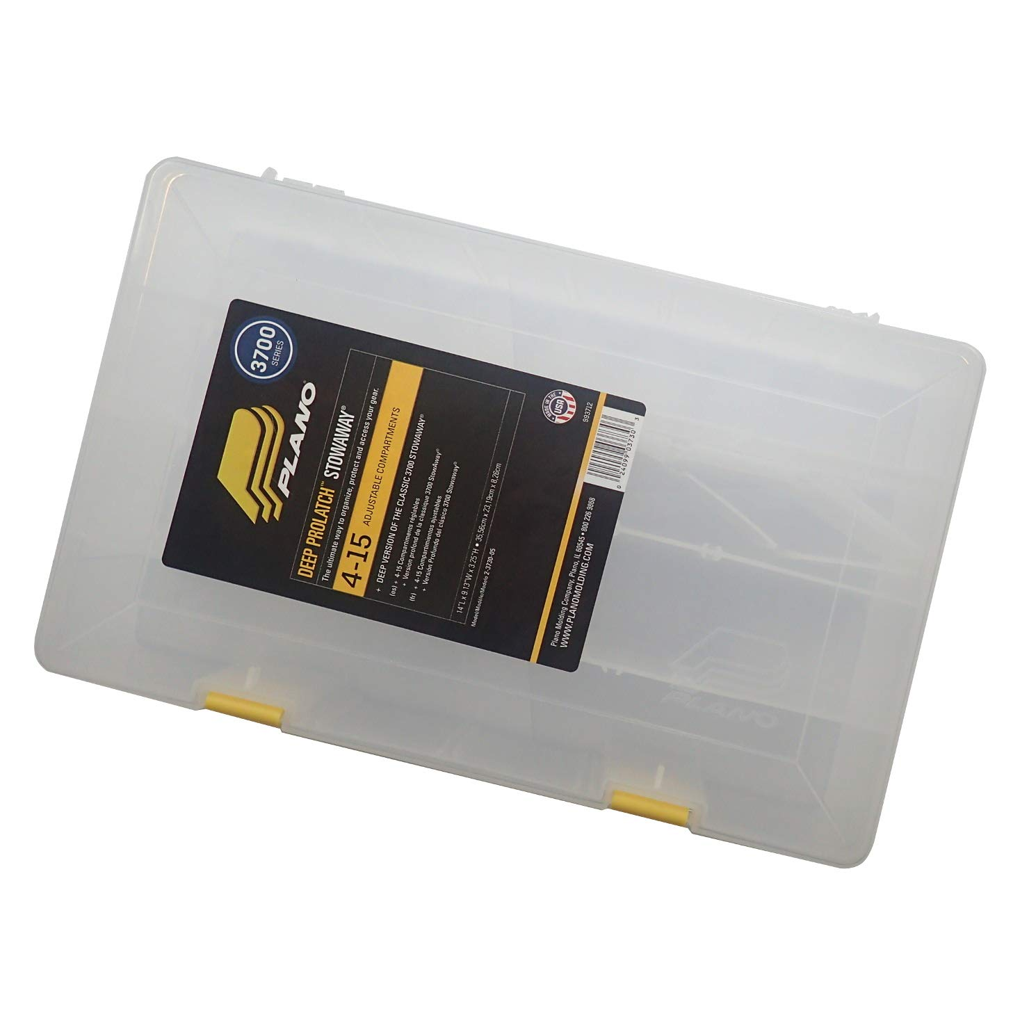 Plano 23701-00 Stowaway with Adjustable Dividers Pack of 1