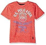 U.S. Polo Assn. Big Boys' Short Sleeve Fancy Crew