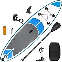 inty Stand Up Paddle Board Inflable, Paddle de PVC/EVA con Remo Ajustable, Bomba de Doble acción, Correa de Transporte…
