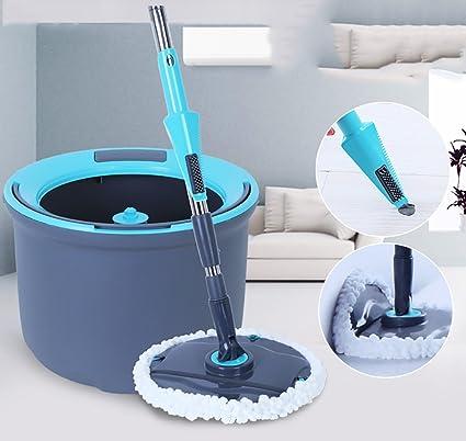 Fregonas giratoria Microfibra fregona vileda Clean up-Sistema de Limpieza con fregona y Cubo fregona