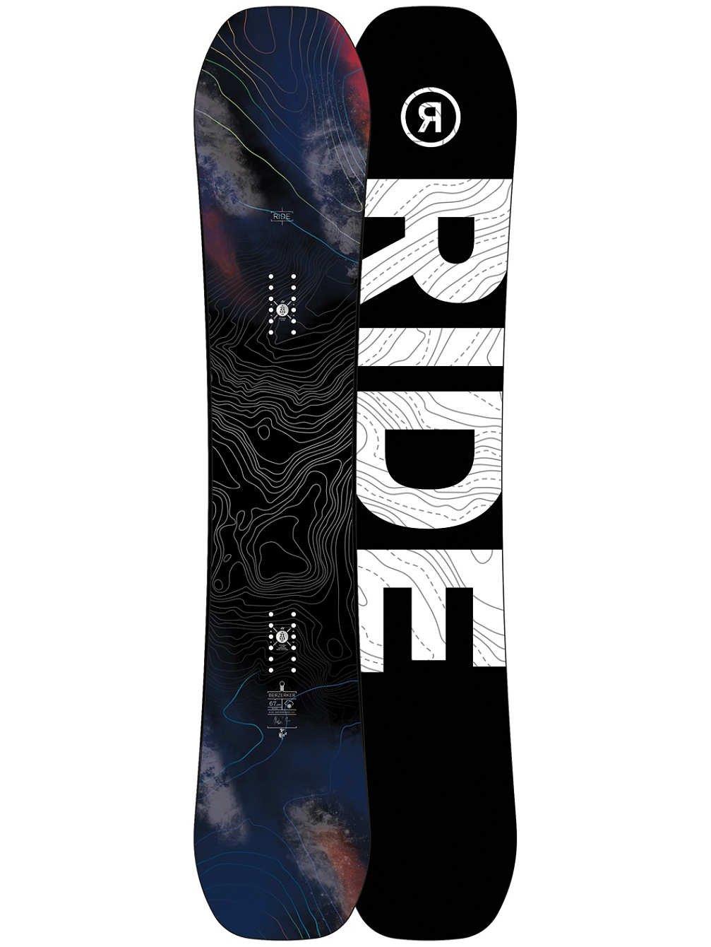 Ride Berzerker 2018スノーボード メンズ B0741FSW73 162cm