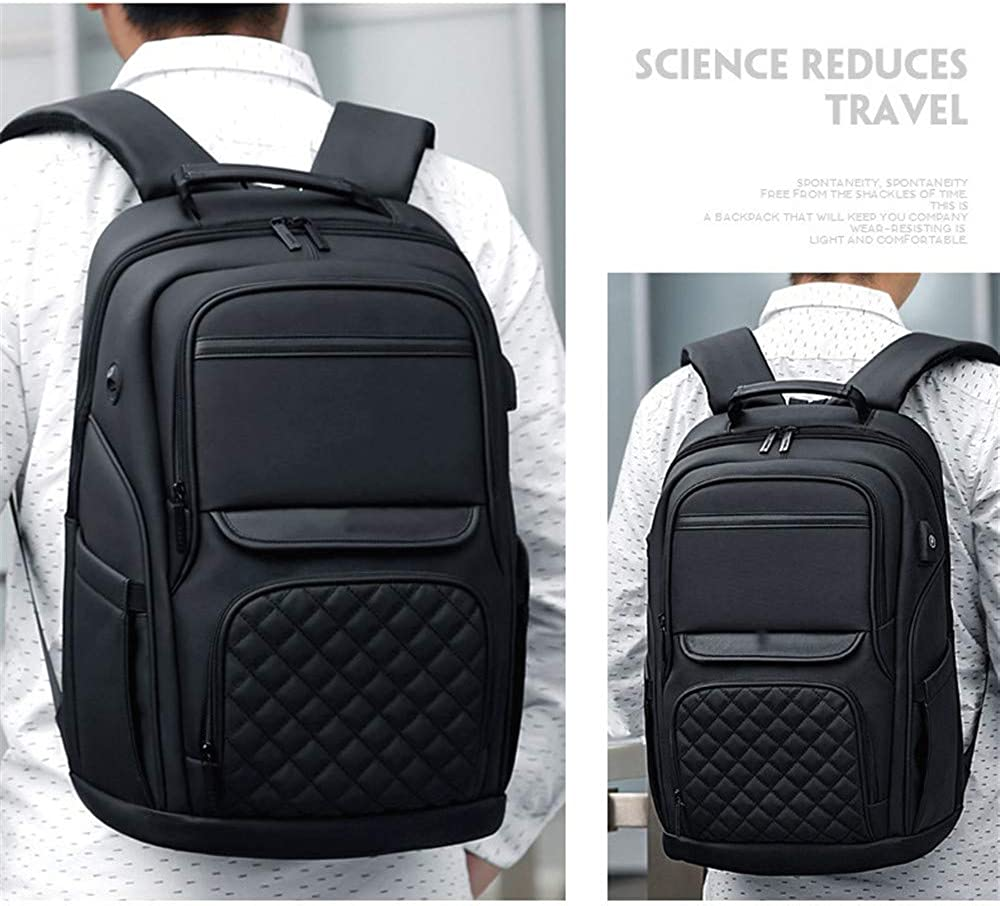 Large Capacity Leisure Travel Backpack FGKING Mens Backpack Mens Fashion Trend Youth Schoolbag Backpacks for Travel Business Trip Computer Bag