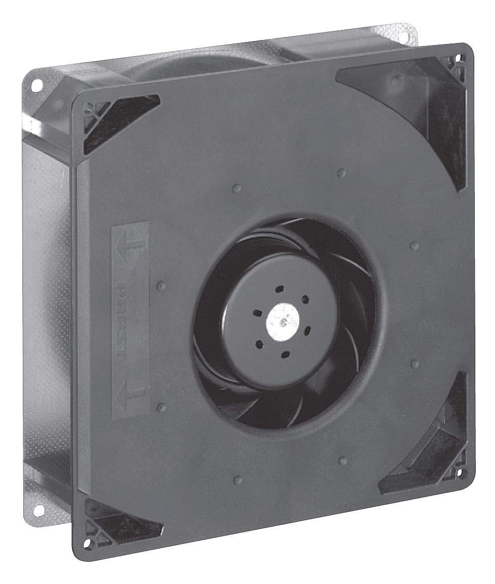 Ebm-Papst RG160-28/18NU- Ventilador cuadrado plano axial, 8-21/32 ...