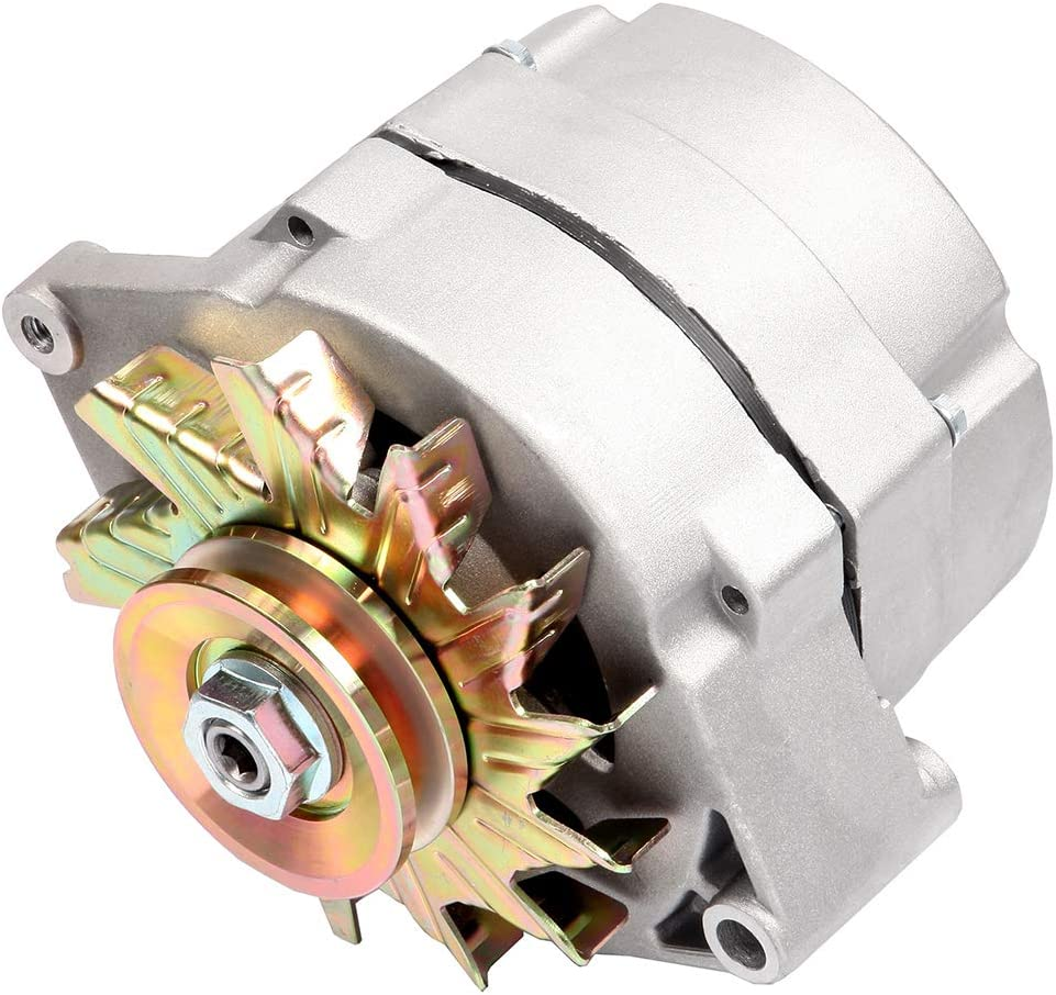 Alternator fits High Output 105 Amp 1-Wire 10SI Self-exciting SBC BBC GM ADR0151