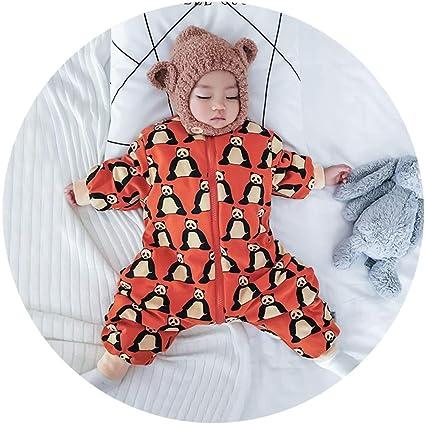 XING GUANG Mini Saco De Dormir para Bebé Invierno Grueso Bebé Pijamas Unidos Saco De Dormir