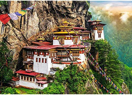 Trefl 2000 Piece Jigsaw Puzzle Tigers Nest Bhutan