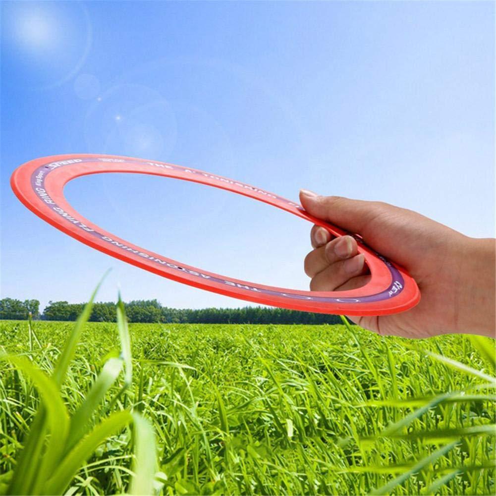 Envisioni Flying Ring Frisbee Deportes al Aire Libre Unidad Sprint Ring t/écnica y de construcci/ón Modo de Vuelo Estable y preciso Discos de Vuelo de 7,3 Pulgadas de di/ámetro para Adultos y ni/ños