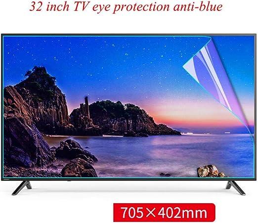 GXYLTT 32 o 39 inchAnti a los arañazos Protectores de Pantalla de TV, Protección de los Ojos Protector de Pantalla, película del Protector de fácil Ajuste,32 Inch: Amazon.es: Hogar