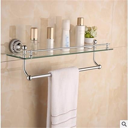 Accesorios de Baño, Toalla de baño o cocina Bar titular de Rack de almacenamiento de montaje ...