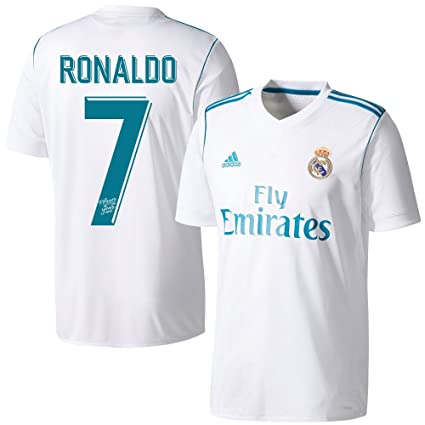 f8571bb7f adidas Real Madrid Home Ronaldo Jersey 2017/2018 (Special Player of The  Year Printing