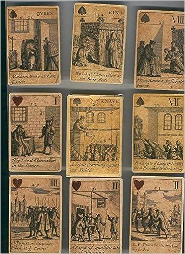 Baraja de cartas poker imagenes Revolucion Britanica de 1689 ...
