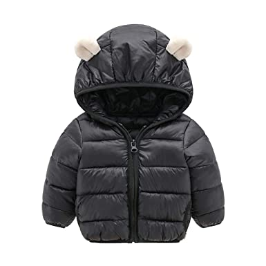 991062d6a0b3 Baby Girls Jacket Autumn Winter Jacket for Girls Coat Kids Warm Hooded  Outerwear Coat for Girl