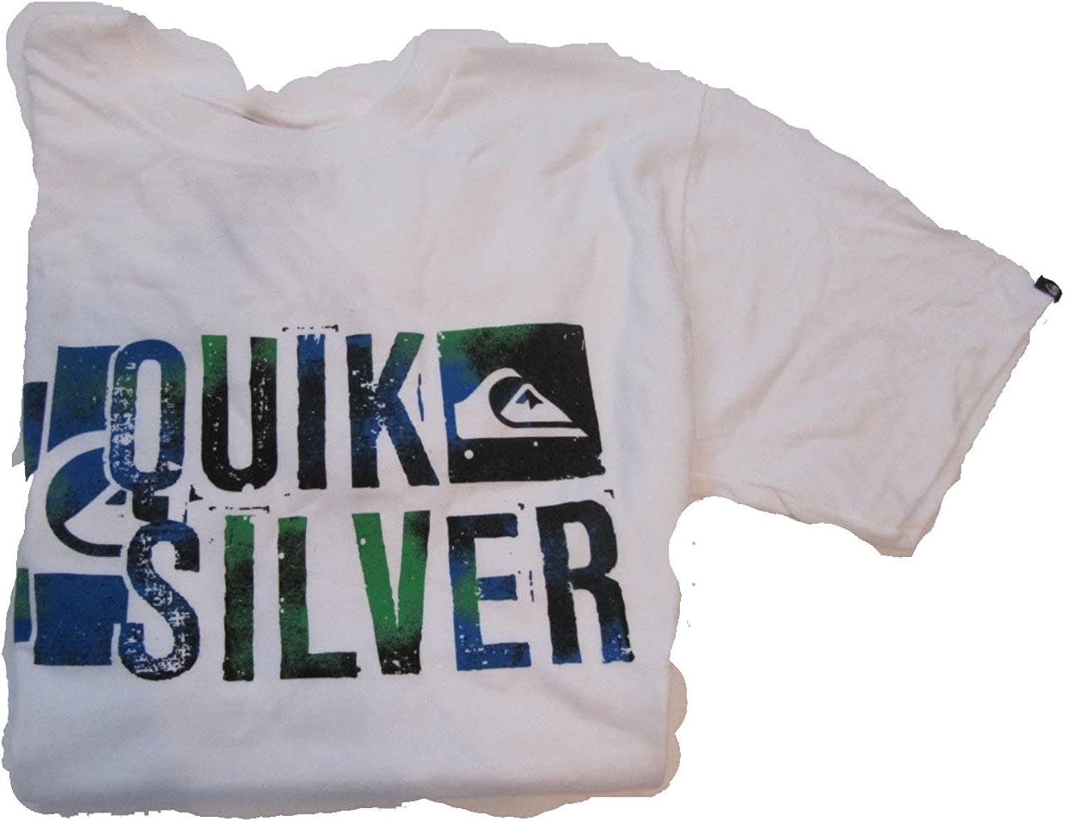 QuickSilver T-Shirt S//s Boys Size Large White