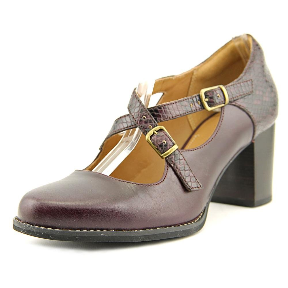 CLARKS Womens Tarah Presley Closed Toe Ankle Strap Leather Mary Jane Pumps, Size 7 by CLARKS