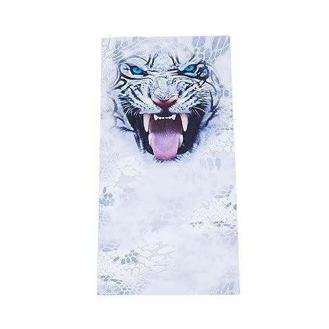 REFURBISHHOUSE - Collar con máscara de Tigre Blanca para Montar a ...