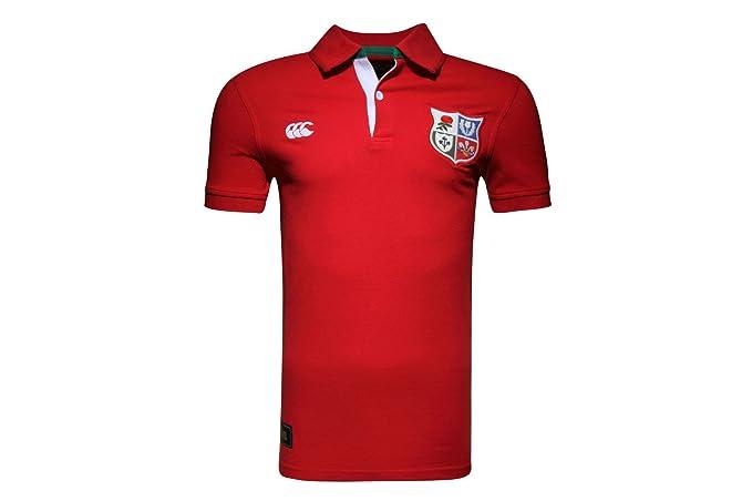 Canterbury British y Irish Lions 1888 Pique - Polo de Rugby Camisa ...
