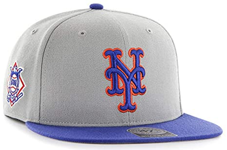 new product 6aeef 22b51 ... france 47 brand exclusive mlb new york mets snapback gray size osfm  adjustable 82e71 f5ea8