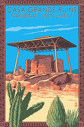 Used, Casa Grande Ruins National Monument - Arizona (12x18 for sale  Delivered anywhere in Canada