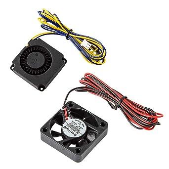 Impresora 3D original Ventilador de enfriamiento 4010 Ventilador ...