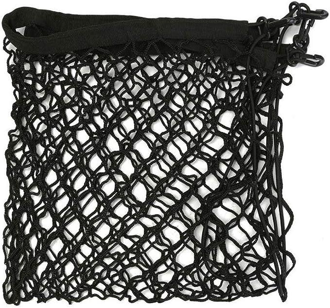 JunFeng Black Cargo Net,Nylon Car Net for Cargo Fixed,Cars,Trucks,Pickups Luggage Carrier Net//Pet Guard Net