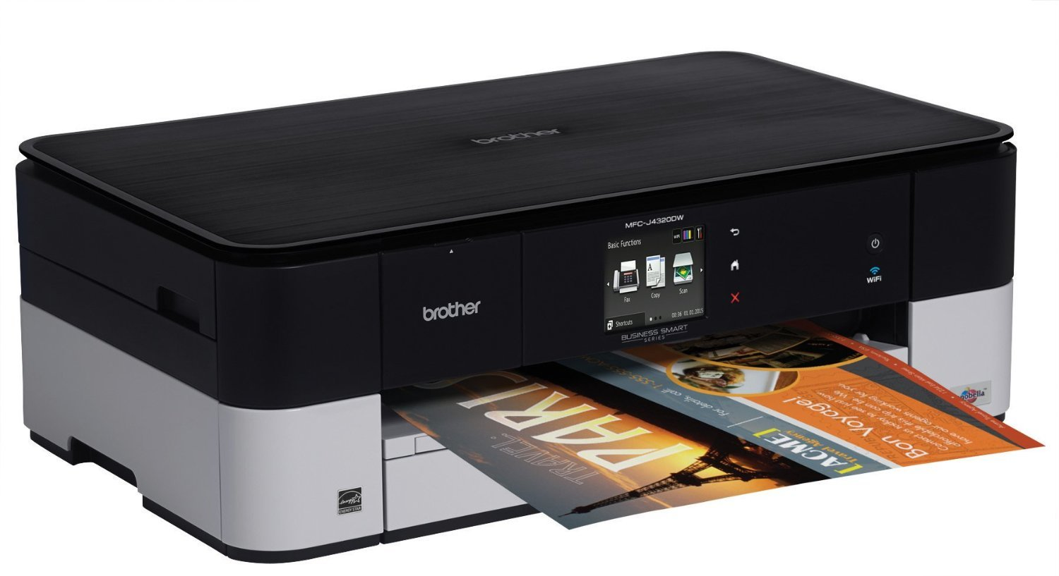 Amazon Brother Printer MFCJ4320DW Wireless Color Photo With Scanner Copier And Fax Dash Replenishment Enabled Electronics