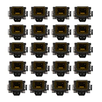 Yibuy 20 Pack Side Touch Pulsador Micro SMD Tact Switch para ...