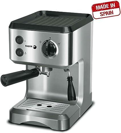 Fagor CR-1500 Cafetera Express, 15 bares, 1050 W, 1.25 litros ...