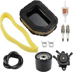 32 083 03-S Air Filter with 24 393 16-S Fuel Pump 12 050 01-S Oil Filter for Kohler SV710 SV715 SV720 SV730 SV735 SV740 Courage Engine