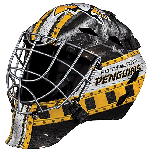 Franklin Sports NHL League Logo Pittsburgh Penguins Mini Goalie Mask (Foam Goalie)