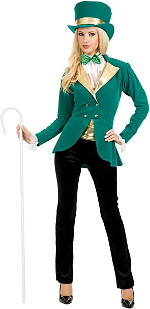 Amazon.com: Charades Disfraces para mujer Pretty Saint Patty ...