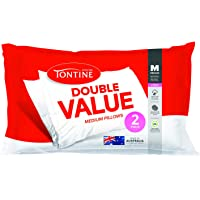 Tontine T2887 Double Value Pillow Duo Pack, White