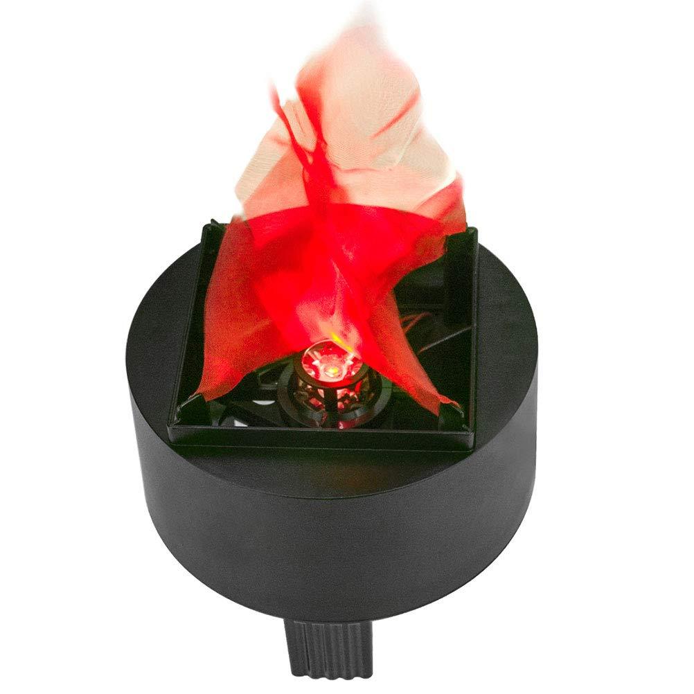 EqWong l/ámpara de fuego artificial escenarios Navidad luces nocturnas Halloween Llama de efecto 3D LED impermeable bombillas brasile/ñas decoraci/ón de bodas Llama parpadeante para fiestas