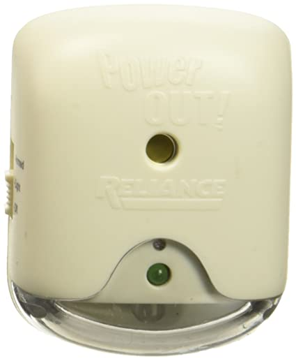Reliance Control Corporation POWER FAIL LIGHT W/ALARM by RELIANCE CONTROLS MfrPartNo THP207M, 1, Multi