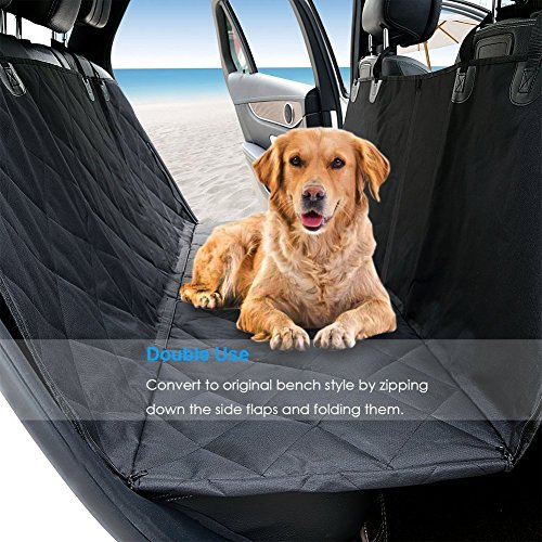 Dog-Seat-Cover-Car-Seat-Cover-for-Pets-Pet-Seat-Cover-Hammock-600D-Heavy-Duty-Waterproof-Scratch-Proof-Nonslip-Durable-Soft-Pet-Back-Seat-Covers-for-Cars-Trucks-and-SUVs