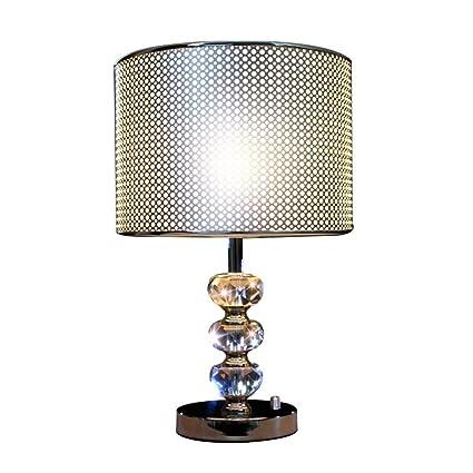 ZGYQGOO Lampe Bureau Design Moderne avec Base au Fini chromé ...