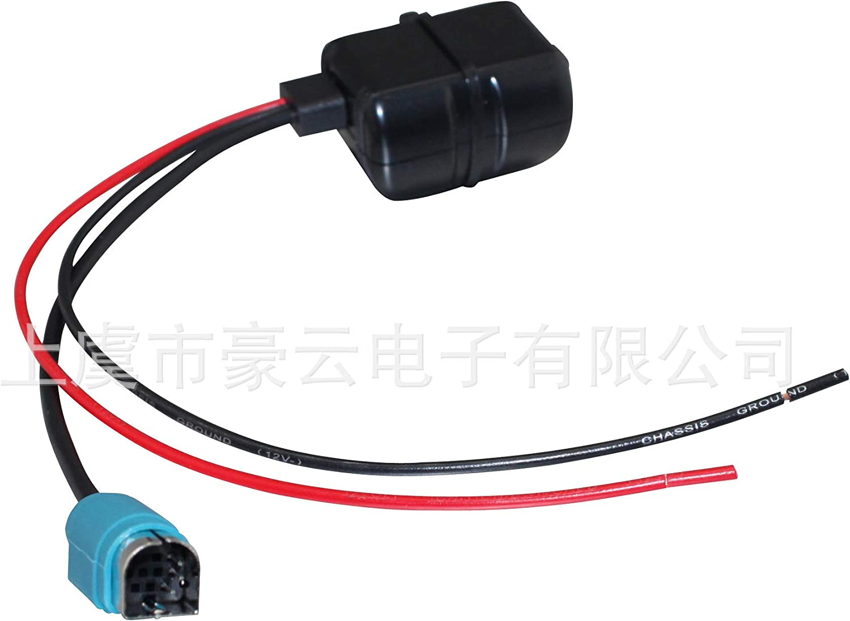 KCE-236B Bluetooth Audio Input 12V Power Supply Black HERCHR Car Alpine Radio