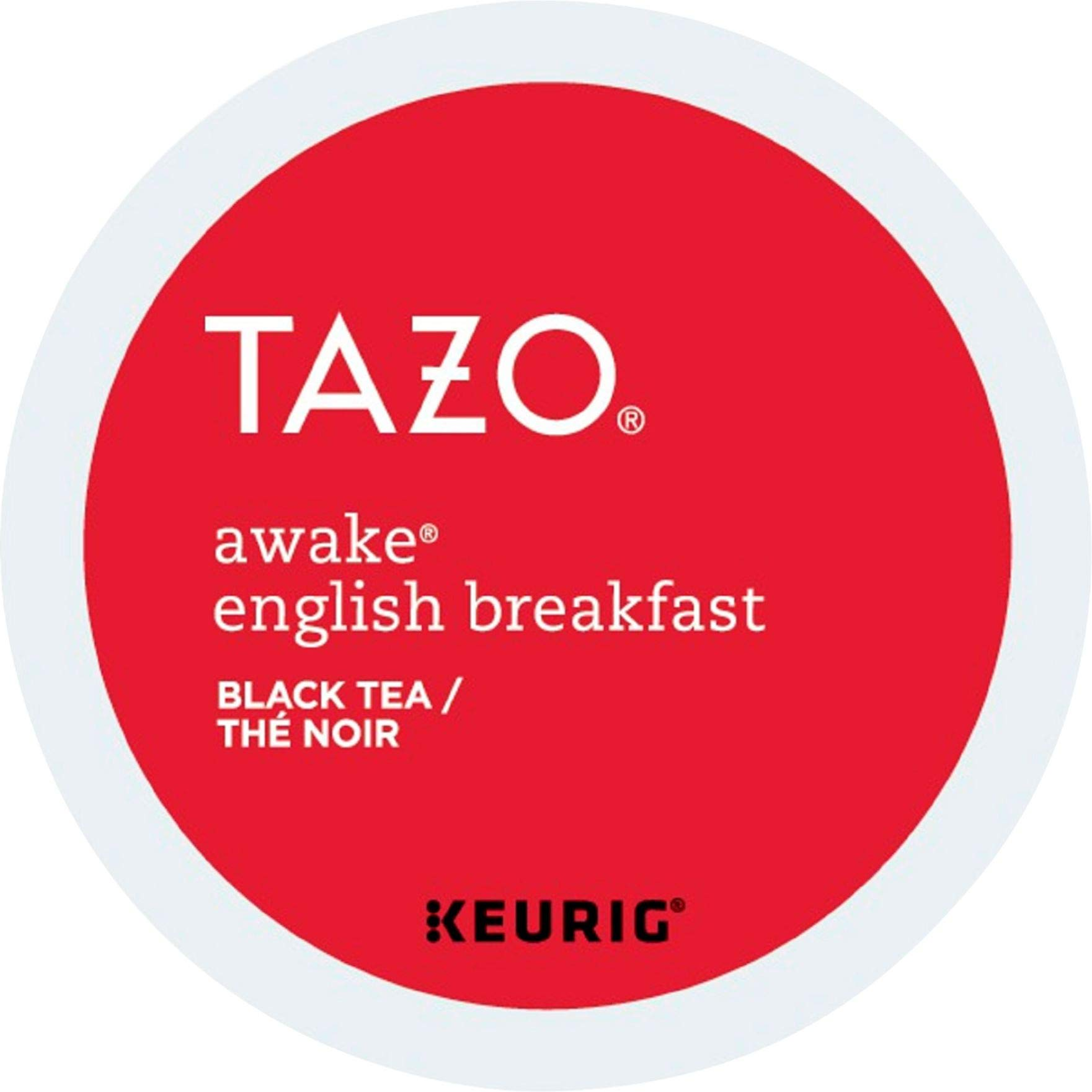 Tazo Awake English Breakfast Black Tea K-Cups, 96 Count by Tazo